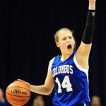 Ali Patberg of Columbus North. Photo from The Republic.